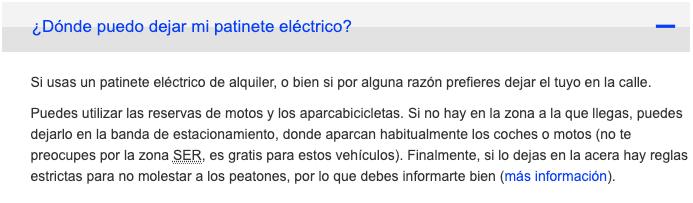 Texto extraído de la página web oficial del ayuntamiento de Madrid.